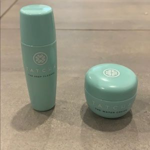 Tatcha Water Cream and Deep Cleanse Trial Size